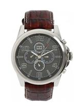 Tommy Hilfiger Chronograph Leather Watch -NTH1790740/D