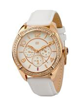 Tommy Hilfiger White Dial Diamond Ladies Watch-TH1781251/D