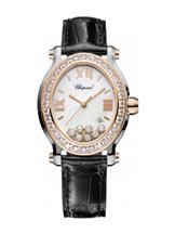 Chopard Happy Sport Strap Leather Watch- 278546-6002