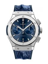 Hublot Classic Fusion Blue Sunray Dial Automatic Men's Watch-521NX7170LR
