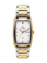 Titan Karishma Analog White Dial Unisex Watch-NB1320BM01