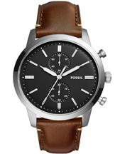 Fossil Townsman Chronograph Black Dial Mens Watch-FS5280I