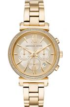 Michael Kors Watches Womens Sofie Gold-Tone Watch-MK6559