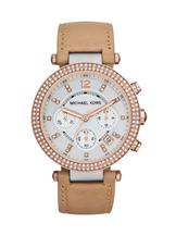 Michael Kors Women's  Parker Tan Watch-MK5633