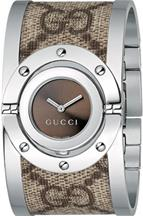 Gucci 112 Twirl Bangle Ladies Watch-YA112425