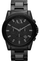 ARMANI EXCHANGE Black Dial Stainless Steel Men's Watch- AX2093
