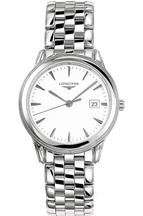 Longines Flagship White Dial Stainless Steel Men's Watch-L47164126