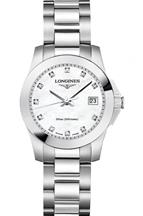 Longines Ladies Conquest Diamond Dial Bracelet Watch-L32774876