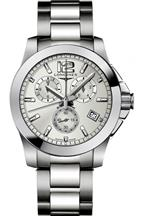 Longines Conquest Mens Steel Watch-L36604766