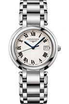 Longines PrimaLuna White Dial Stainless Steel Women's Watch-L81144716