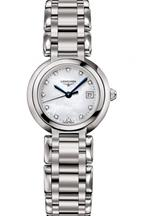 Longines PrimaLuna White Mother of Pearl Dial Stainless Steel Ladies Watch-L81104876
