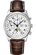 Longines Master Collection Brown Leather Strap-L27734785