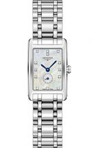 Longines Dolce Vita Mother of Pearl Dial Stainless Steel Ladies Watch-L52554876