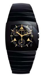 Rado Sintra Black Ceramic Chronograph Mens Watch -R13477182
