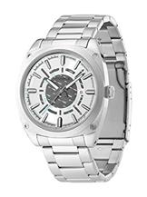 Police Analog White Dial Men's Watch-PL12698JS04MJ