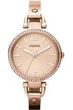 Fossil Analog Rose Gold Dial Women's Watches-ES3226I