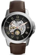 Fossil Grant Skeleton Dial Men's Automatic Watch-ME3095