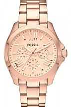 Fossil Women's  Cecile Analog Display Analog Quartz Rose Gold Watch-AM4511