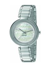 Esprit Threess Hands Analog White Dial Women's Watch -ES106012001