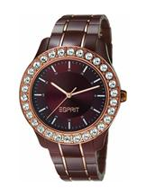 Esprit Three Hands Analog Brown Dial Women's Watch-ES106252004