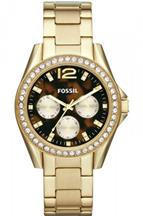 Fossil Riley Multifunction Stainless Steel Watch - Gold-Tone-ES3364