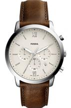 Fossil Neutra Analog Leather Mens Watch-FS5380I