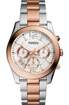 Fossil Perfect Boyfriend Two Tone Watch-ES4135I