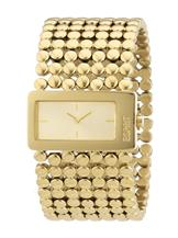 Esprit Two Hands Analog Gold Dial Women's Watch-ES106152003