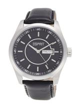 Esprit Circolo Night Analog Black Dial Men's Watch-ES104081001