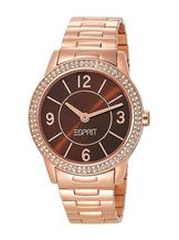 Esprit Women's Quartz Watch Heron Glam Rosegold  with Metal Strap-ES104352005