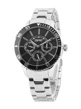 Esprit Silver/Black Analog Watches-Es105082004