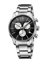 Men's Calvin Klein ck City Chronograph Dress Watch -K2G2714X