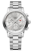 Chopard Mille Miglia Chronograph Mechanical Silver Dial Stainless Men's Watch-158511-3001