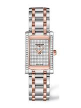 Longines DolceVita Steel/Rose Gold Watch For Women-L51555007