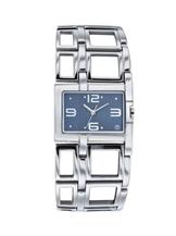 Titan Purple Analog Blue Dial Women's Watch - 60SM02-NB9860SM02