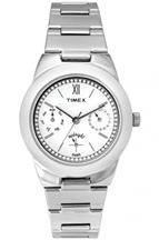 Timex TW000J107 White Dial Women's Watch-TW000J107