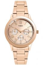 Timex TW000Q810 Gold Dial Women's Watch-TW000Q810