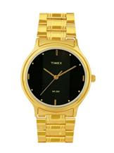 timex classicss analog black dial men's watch-TW000T607