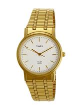 timex classic analog stainless steel men's watch-TW000T607