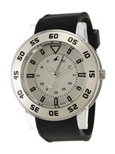 Fastrack OTS Explorer Analog White Dial Men's Watch -9950PP05J