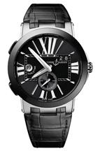 ULYSSE NARDIN EXECUTIVE DUAL TIME 43MM MENS WATCH-243-00/42