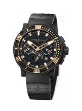 ulysse nardin black sea chrono mens watch-246-00-5/42