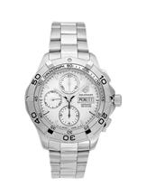 TAG Heuer Men's Aquaracer Automatic Chronograph Stainless Steel Watch-CAF2011.BA0815