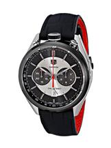 TAG Heuer Men's Carrera Analog Display Swiss Automatic Black Watch-CAR2C11.FC6327