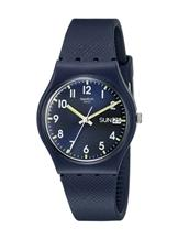 Swatch Unisex Originals Navy Blue Watch-GN718