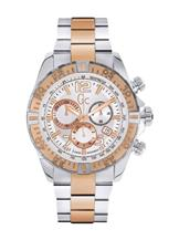 Gc Men's Steel & Rose Gold SportRacer Watch-Y02006G1