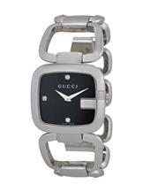 Gucci G- Quartz Stainless Steel Ladies Watch-YA125406