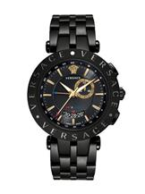 Versace Men's V-Race Black Stainless Steel Watch-29G60D009 S060