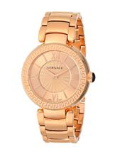 Versace Women's Leda Analog Display Swiss Quartz Gold Watch-VNC060014