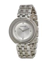 Versace Thea Silver Dial Stainless Steel Ladies Watch-VA7060013